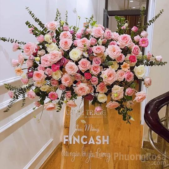 Hoa tặng khai trương Đại Cát
