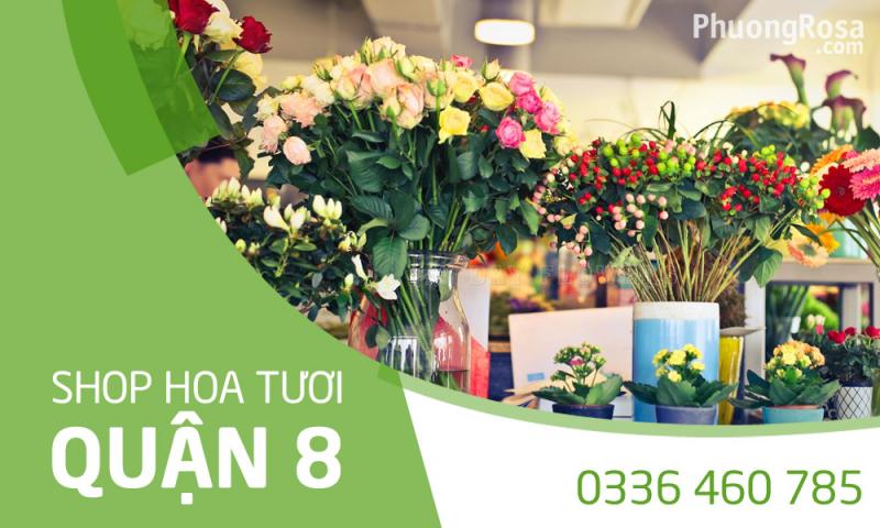 shop hoa tươi quận 8 uy tín